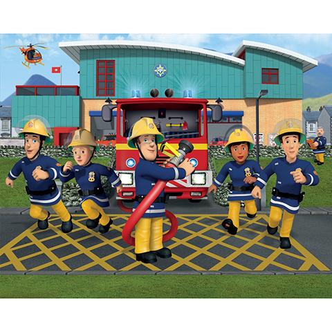 Walltastic Fireman Sam - poster murale 12 pannelli