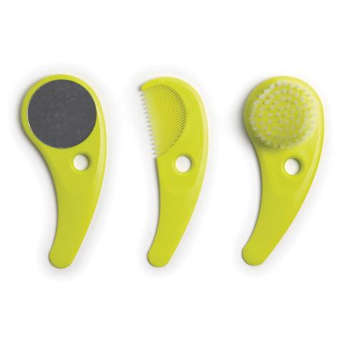 Prodotti igiene personale - Zazo - set toilette - linea Hoppop lime by Hop Pop