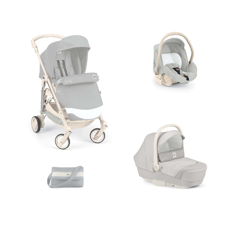 Passeggino trio cam trio combi family t576 grigio ebay for Passeggino trio ebay