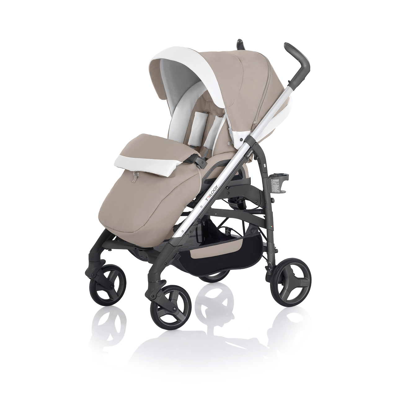 poussette double peg perego duette avec volant. Black Bedroom Furniture Sets. Home Design Ideas
