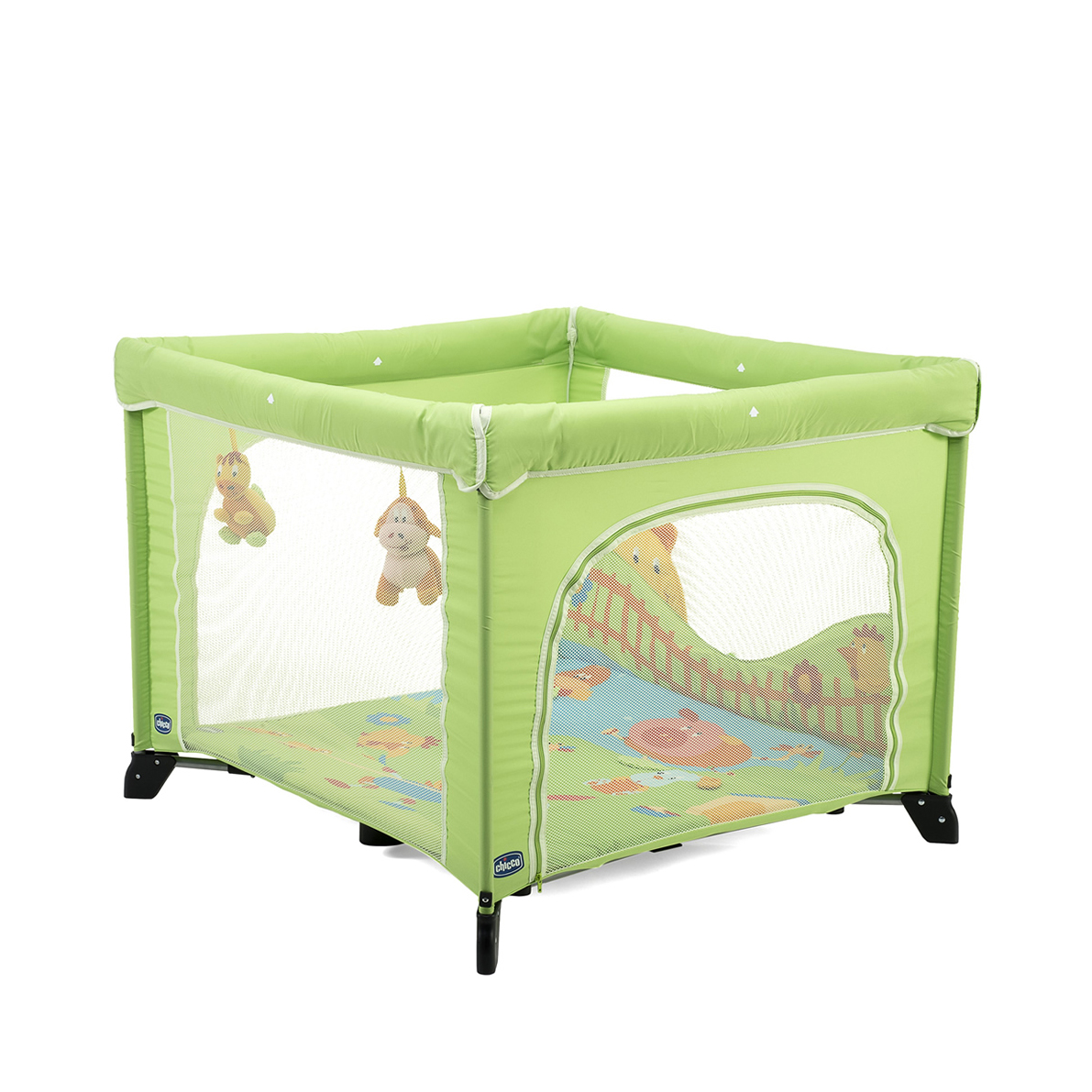 baby laufgitter kinder laufstall laufgitter chicco open country green ebay. Black Bedroom Furniture Sets. Home Design Ideas