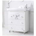 Cassettiere fasciatoio - Baby Expert Bagnetto Snoopy Lux