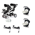 Linea gemellare - Casual Play [DUO] S-twinner + Baby 0 Plus + Base Isofix