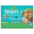 Prodotti igiene personale - Pampers 72 salviettine Babyfresh