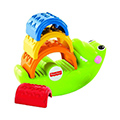 Giocattoli educativi - Fisher Price Coccodrillo Impila e Impara