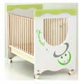 Lettini - NCR arredo baby Zodiaco - verde [personalizzabile]