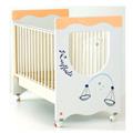 Lettini - NCR arredo baby Zodiaco - arancio [personalizzabile]