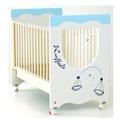Lettini - NCR arredo baby Zodiaco - celeste [personalizzabile]