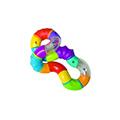 Giocattoli 3+ mesi - Nuby Massaggiagengive Twisted Rattle