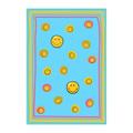 Tappeti per camerette - Sitap Smiley 8901 Blue
