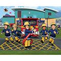 Decorazioni murali - Walltastic Fireman Sam - poster murale 12 pannelli