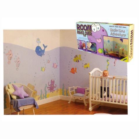 Stickers x camerette decorazioni murali per camerette - Decorazioni cameretta bimbo ...