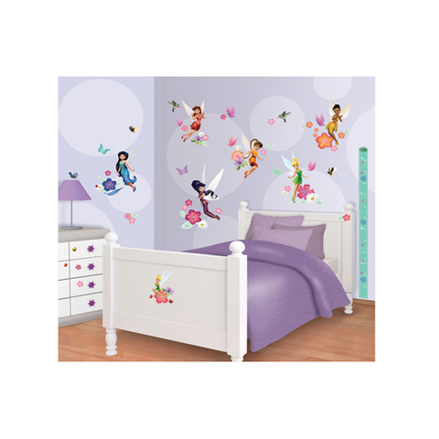 Wandtattoo wandbild kinderzimmer disney fairies 41462 - Wandtattoo kinderzimmer disney ...