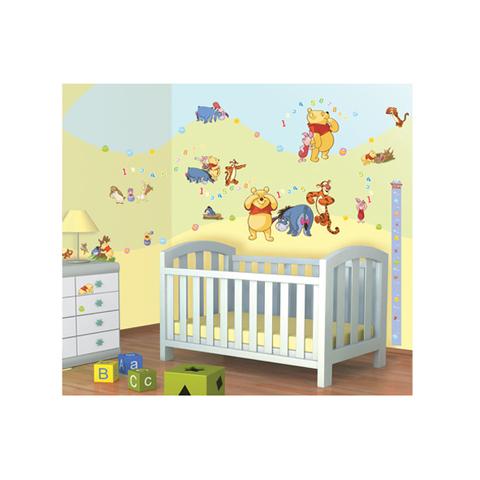 Kit adesivi decorativi - Winnie The Pooh Disney Winnie The Pooh [41486]  Walltastic Disney Winnie The Pooh [41486]