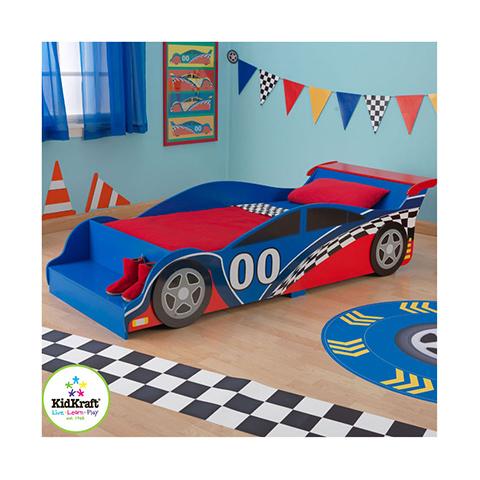 Letti Per Bambini A Forma Di Macchina.Letto Macchina Da Corsa Rosso Blu 76038 Kidkraft Rosso Blu 76038