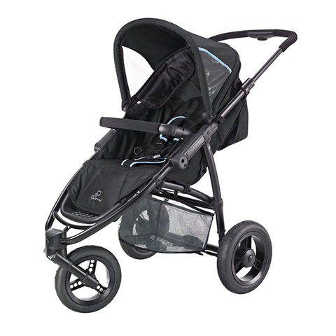 baby stroller pushchair buggy speedi fast black quinny ebay. Black Bedroom Furniture Sets. Home Design Ideas